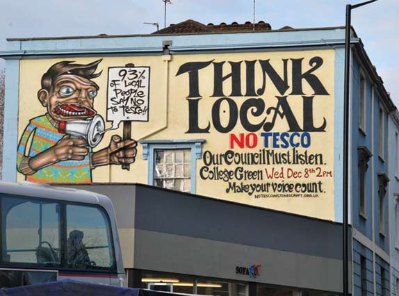 boycott tesco PRSC previous projects