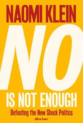 BOOK OFFER – Naomi Klein visits Bristol 1 July – £8 special book offer sale 'No is Not Enough'