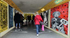 Asaro resiste exhibition bearpit outdoor gallery