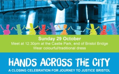 Bristol's 'Hands Across the City' solidarity march