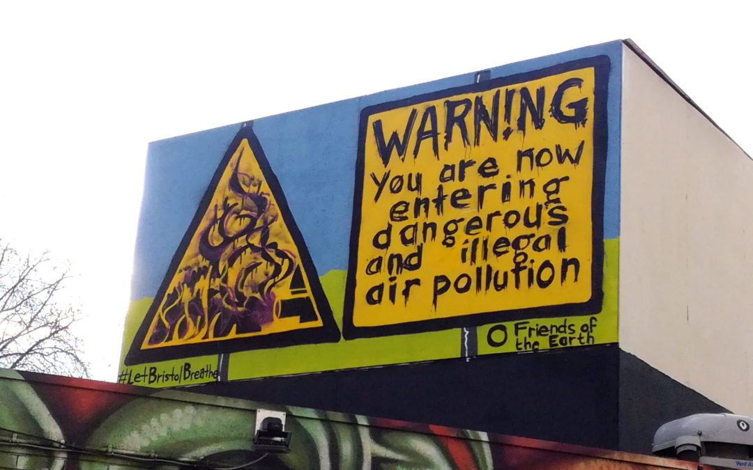 You are now entering dangerous and illegal air pollution