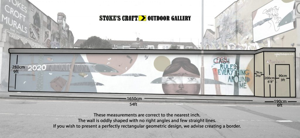 PRSC Outdoor Gallery Wall - dimensions
