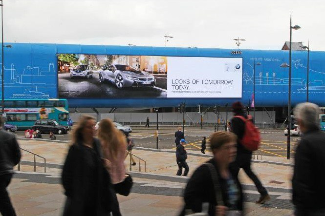 Huge digital billboard planned opposite Temple Meads