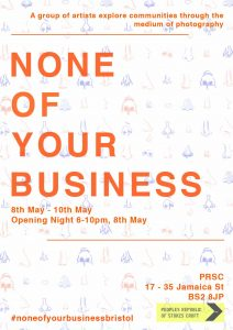 Non Of Your Business exhibition