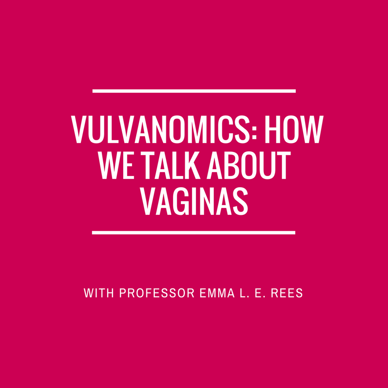 Vulvanomics – How We Talk About Vaginas Description: Sex Talks is incredibly excited and passionately grateful to be bringing Professor Emma L. E. Rees, Director of the Institute of Gender Studies and bestselling author to Bristol, under the Sex Talks umbrella. When you were growing up did you talk about 'froo froos', 'tuppences', or 'lady gardens'? Or were 'vaginas' and 'vulvas' more commonly referred to? And what does it mean that when we say 'the C-word' we're conjuring up generations of shame and taboo? And why do we say the phrase 'the C-word', and not the word itself? (Cunt – there you go Sex Talks said it) Emma Rees is Professor of Literature and Gender Studies at the University of Chester, and Director of the Institute of Gender Studies. She has written extensively in the field of gender and representation, and her most recent book, The Vagina: A Literary and Cultural History (Bloomsbury) came out in paperback early in 2015. In Vulvanomics, an informative, sometimes light-hearted talk based on her book, Emma considers the often surprising origins of how we talk about vaginas, and why people have such a problem doing so in a candid way; she maps how advertising, film-making and art have profited from the taboo of the vagina, and how they even perpetuate ideas of 'shame'. If we confront the taboo, she argues, we can also confront the real-world abuses it currently masks. 45-minute talk, followed by an opportunity for audience questions and discussion. As well as a fab chance to get your hands on one of these golden books., maybe even a signed one if you ask really nicely. Tickets are £6.50 (Plus Tickets Ignite booking fee which supports the accessible arts) or concessions tickets available for students, freelancers, sex workers if you're a member of a community action group Sex Talks supports for £4.