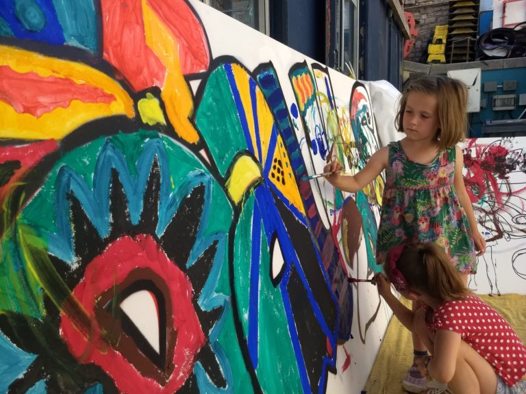 paint jam bristol stokes croft creative art children kids adults workshop free