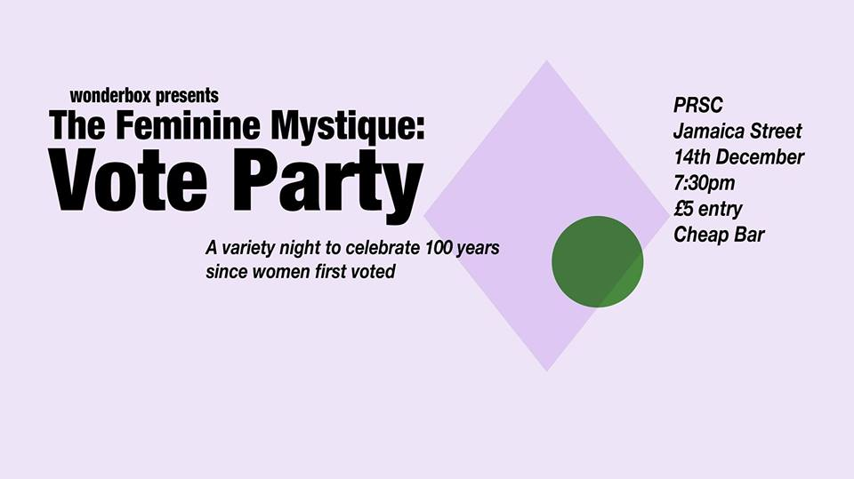 THE FEMININE MYSTIQUE: VOTE PARTY