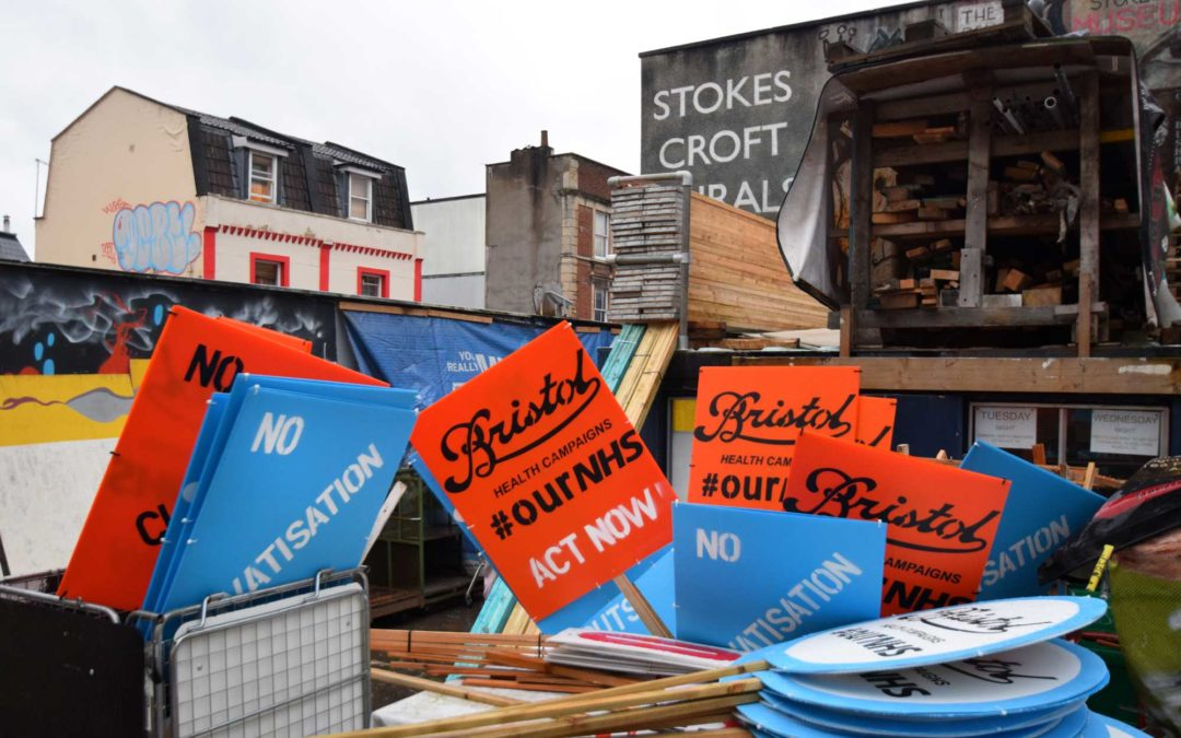 Save Stokes Croft Culture – Banner Making Session