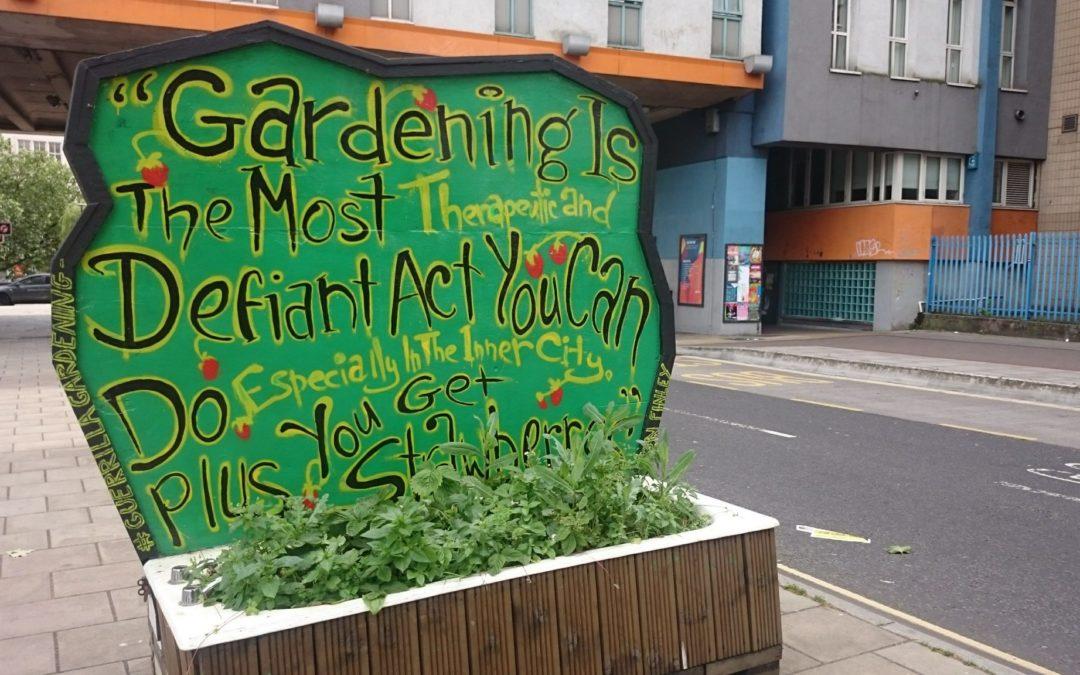 Guerilla Urban Regeneration