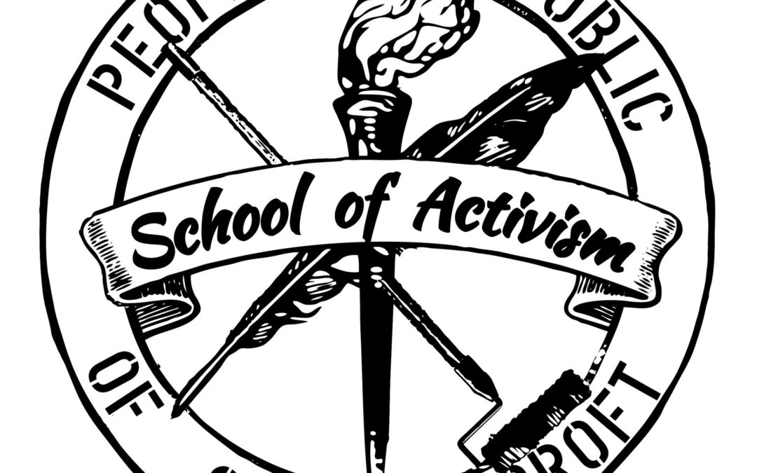 School of Activism – coming this Easter!