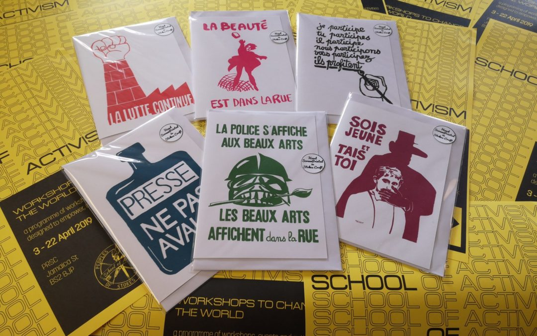 Screenprinting Workshop – School of Activism