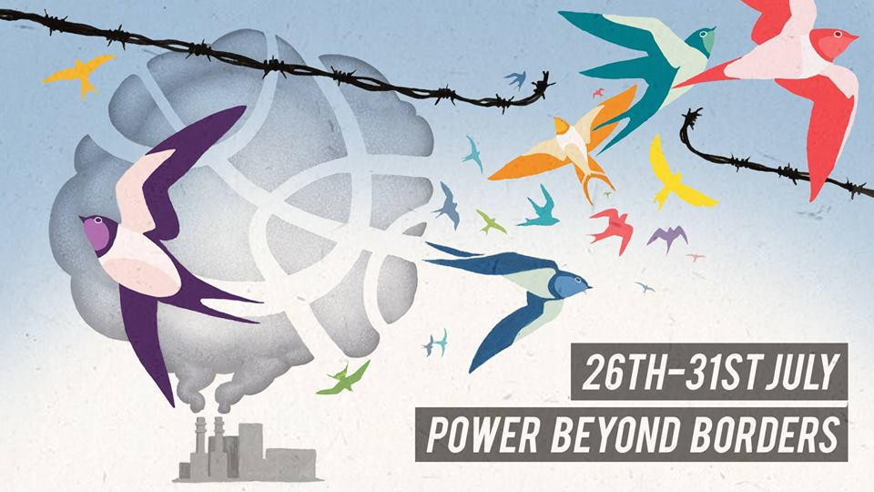 Poster for Power Beyond Borders: Mass Action Camp