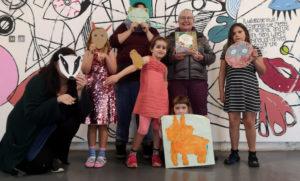 Maskmaking workshop, Easter 2019