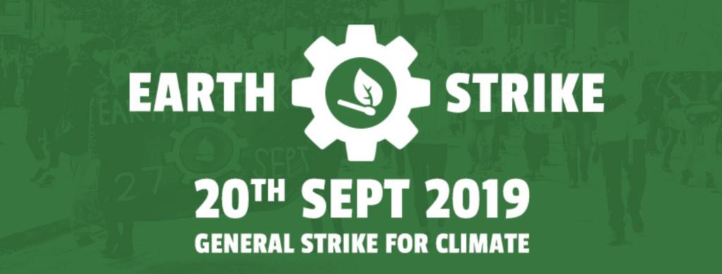 Banner for Earth Strike - 20th September 2019