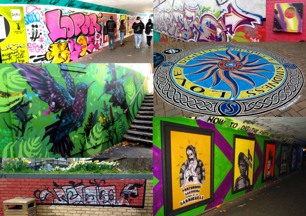 Montage of images of the Bearpit