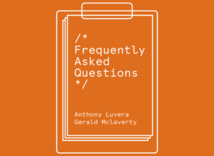 Poster for Frequently Asked Questions exhibition