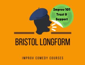 Bristol Longform Comedy Course - Improv 101 poster