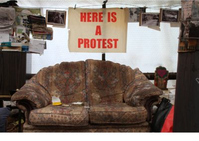 "Here is a Protest / Lisa Furness / C-type digital print / £15-25 (<a href=""https://www.prscshop.co.uk/products/here-is-a-protest"" target=""_blank"" rel=""noopener noreferrer"">buy</a>)"