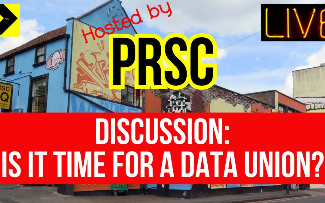 Is it Time for a Data Union?